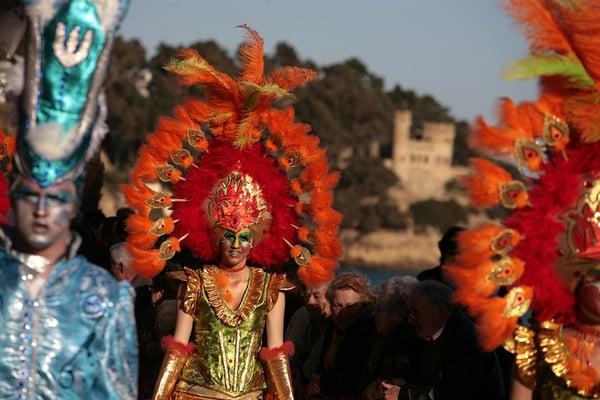 Carnaval Blanes,  Lloret de Mar, Tossa, Costa Brava