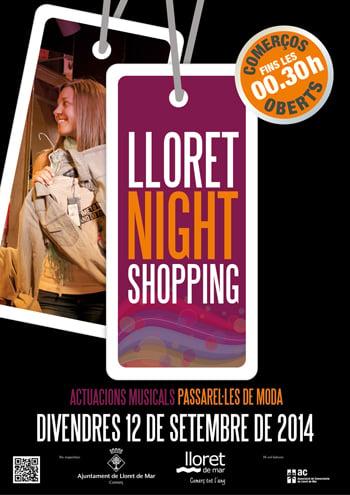 Post Lloret Night Shopping set 2014