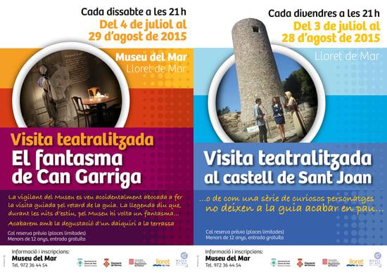 Post Noves visites teatralitzades a Lloret de Mar