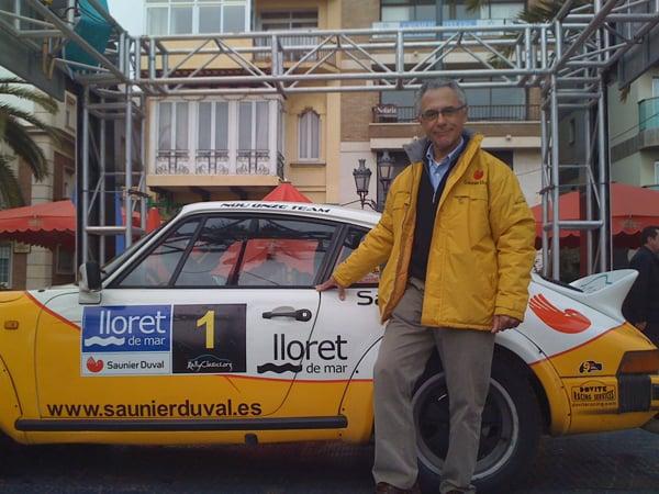 Salvador Canyelles, Piloto Rally Costa Brava, Lloret de Mar
