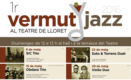 Vermut jazz - cartell