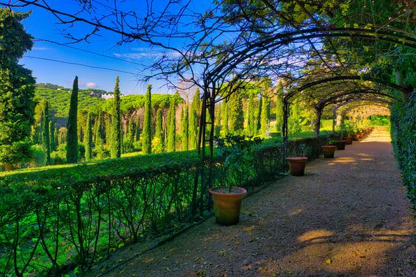 Jardins Santa Clotilde - passadís